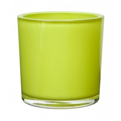 Green Cylinder Glass