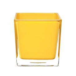 Square Container Yellow