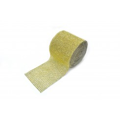 Diamond Decorative Ribbon Gold