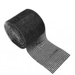 Diamond Decorative Ribbon Black
